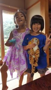 Maya and Hina